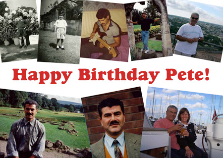 Happy 60th Birthday Pete!
