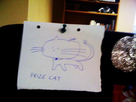 Prize Cat – Rewarding The Worthy…
