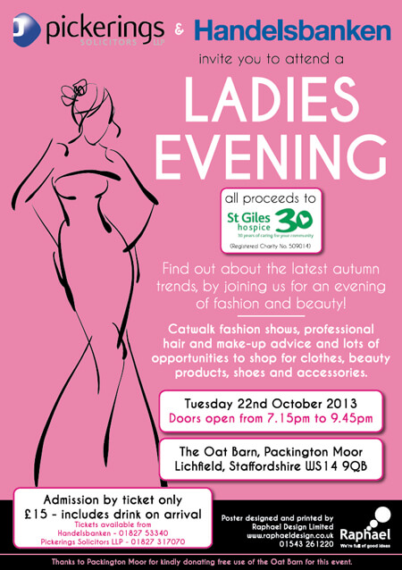 Charity Fashion Show in support of St Giles Hospice