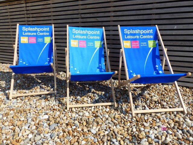 Why we ❤ our Custom Promotional Printed Deckchairs and We Think You Will ❤ Them Too!