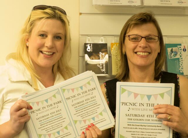 Get Ready to 'Picnic in the Park' on 4th July at The Golden Cup in Yoxall.