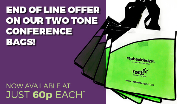 Why not bag yourself a bargain with this great offer on our two-tone conference bags!