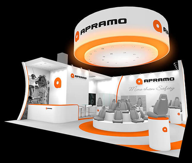 Apramo exhibition Stand Option 2