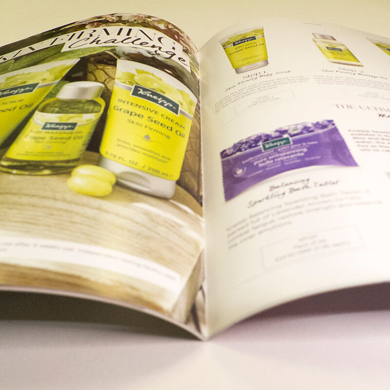 Grafton Kneipp Catalogue Design and Print