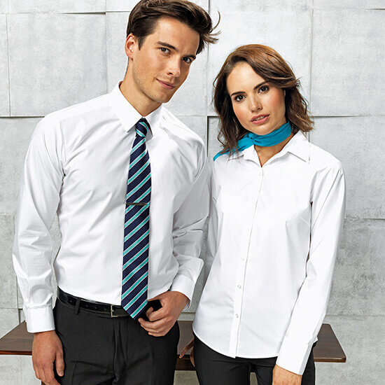 Corporate Clothing shirt and tie