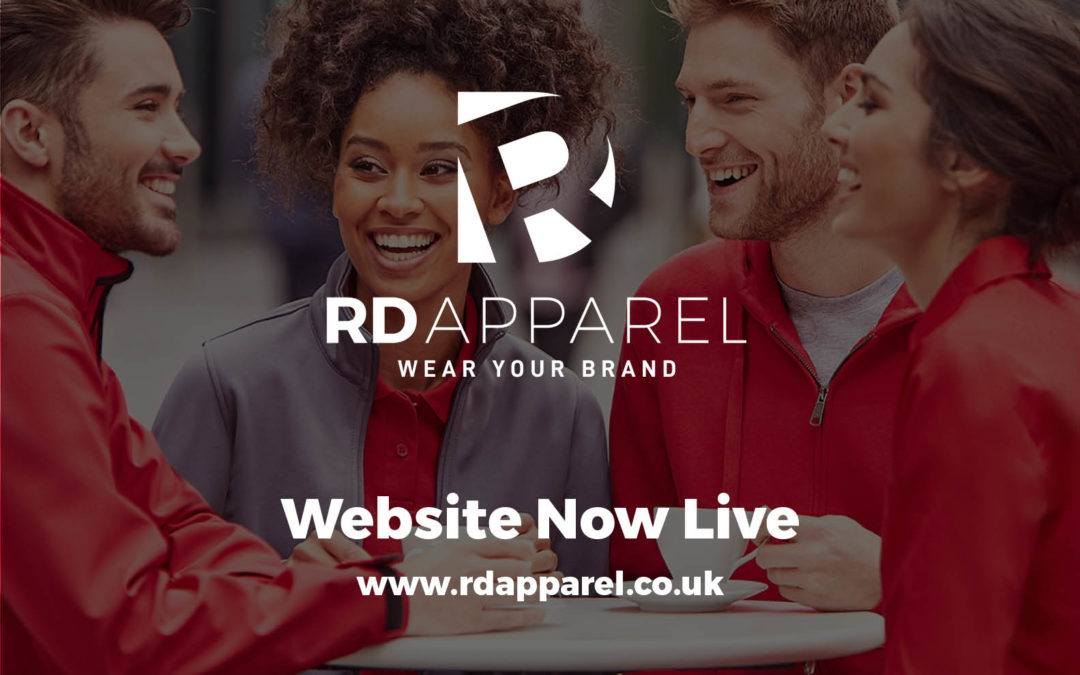 Breaking News! Launch of RD Apparel Website!