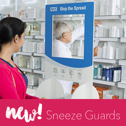 Breaking News – Sneeze Guards Now Available